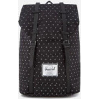 Herschel Supply Co. Retreat Classic Backpack - Black Gridlock/Black Rubber
