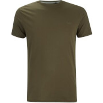 Threadbare Men's William Crew Neck T-Shirt - Khaki - XXL - Green