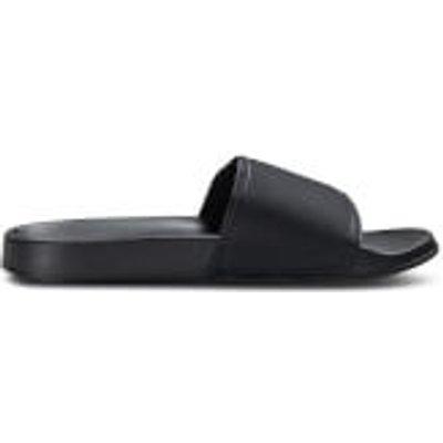 Jack & Jones Men's Slider Sandals - Anthracite - UK 12/EU 46 - Black