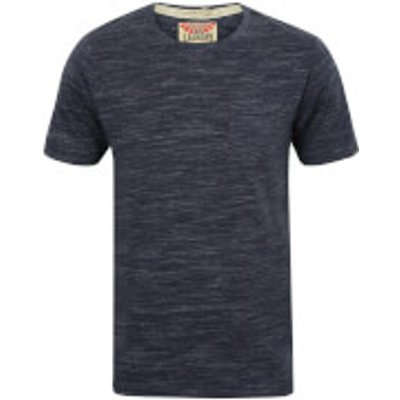 Tokyo Laundry Men's Textured Grotto T-Shirt - Mood Indigo - XL - Blue
