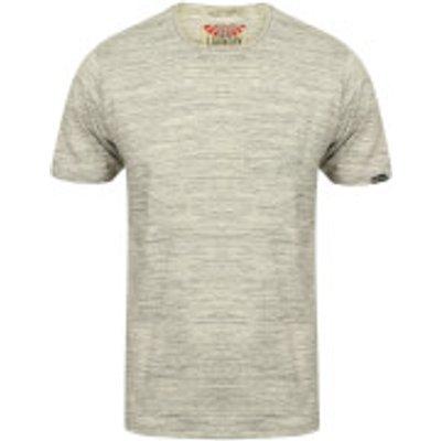 Tokyo Laundry Men's Textured Grotto T-Shirt - Grey Marl - L - Grey