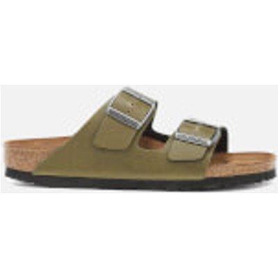 Birkenstock Women's Arizona Slim Fit Pull Up Double Strap Sandals - Olive - UK 4/EU 37 - Green