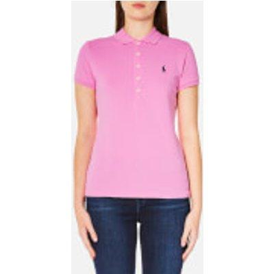 Polo Ralph Lauren Women s Julie Polo Shirt   Pale Rose   S   Pink - 3614712850272