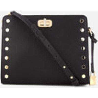 MICHAEL MICHAEL KORS Women's Sylvie Medium Messenger Bag - Black
