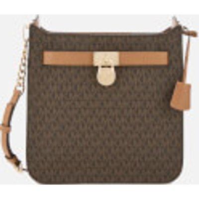 MICHAEL MICHAEL KORS Women's Hamilton Medium North South Messenger Bag - Brown