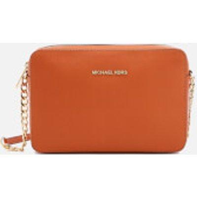 MICHAEL MICHAEL KORS Women's Jet Set Large East West Cross Body Bag - Orange
