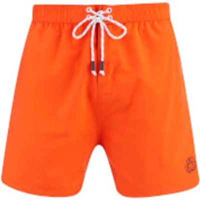 Smith & Jones Men's Antinode Swim Shorts - Tigerlilly - XL - Orange