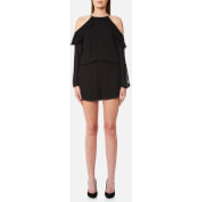 MICHAEL MICHAEL KORS Women's Cold Shoulder Romper - Black