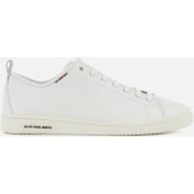 PS by Paul Smith Men's Miyata Leather Trainers - White