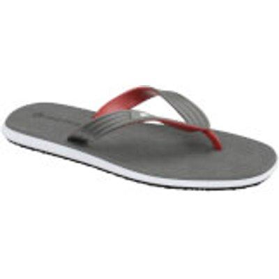 Dunlop Men's Toe Post Flip Flops - Grey - UK 9/EU 43 - Grey