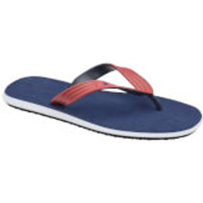 Dunlop Men's Toe Post Flip Flops - Navy - UK 12/EU 46 - Blue