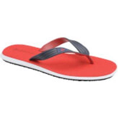 Dunlop Men's Toe Post Flip Flops - Red - UK 9/EU 43 - Red