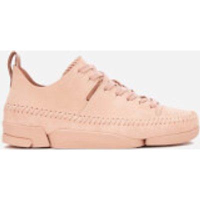 Clarks Originals Women's Trigenic Flex Shoes - Pink Nubuck - UK 7 - Nude