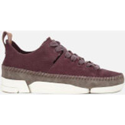 Clarks Originals Women's Trigenic Flex Shoes - Burgundy Nubuck - UK 6 - Burgundy