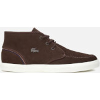 Lacoste Men's Sevrin Mid 317 1 Chukka Boots - Dark Brown