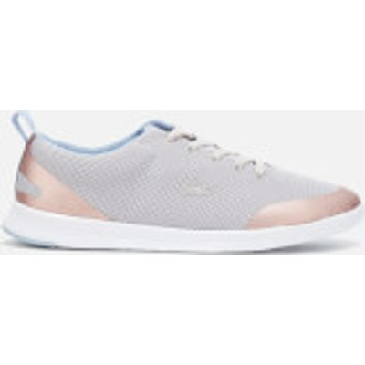 Lacoste Women's Avenir 317 2 Mesh Runner Trainers - Light Grey - UK 5 - Grey