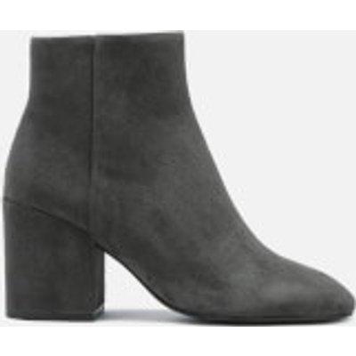 Ash Women's Eden Suede Heeled Ankle Boots - Bistro