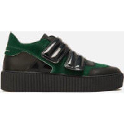 MM6 Maison Margiela Women's Multi Colour Trainers - Green/Black/Black