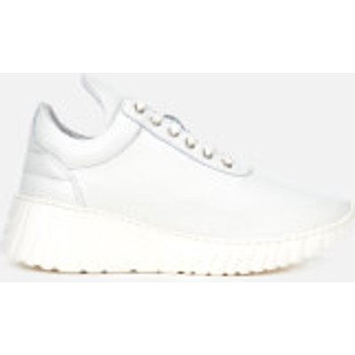 Filling Pieces Women's Roots Low Top Trainers - White