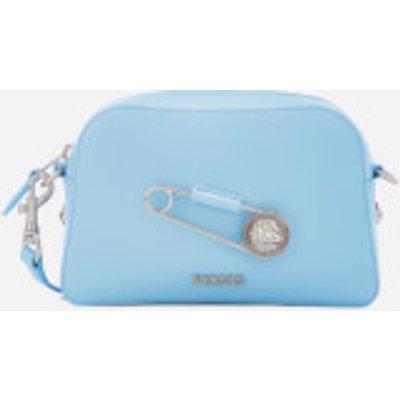 Versus Versace Women's Safety Pin Small Cross Body Bag - Light Blue