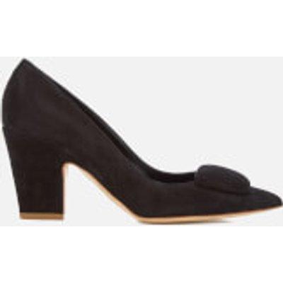 Rupert Sanderson Women's Pierrot Suede Heeled Court Shoes - Black