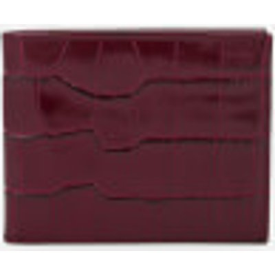 Aspinal of London Men's Billfold Wallet - Bordeaux