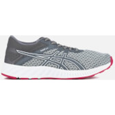 Asics Women's Fuze X Lyte 2 Trainers - Mid Grey/Carbon/Cosmo Pink - UK 6.5 - Grey