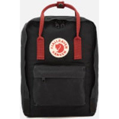 Fjallraven Kanken Laptop Backpack 13  - Black/Ox Red