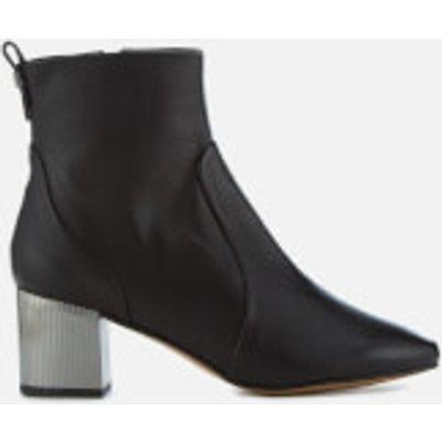 Carvela Women's Strudel Leather Heeled Ankle Boots - Black - UK 5 - Black