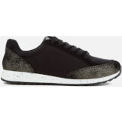 Superdry Women's Core Runner Trainers - Antique Gold/Black - UK 8 - Black