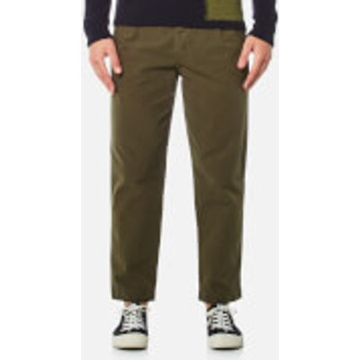 Folk Men's Relaxed Fit Trousers - Military Green - 3/M - Green