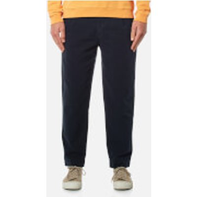 Folk Men's Relaxed Fit Trousers - Navy