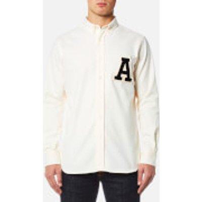 AMI Men's A' Patch Shirt - White