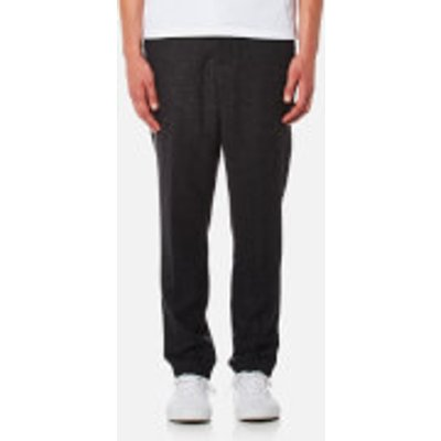 AMI Men's Carrot Fit Trousers - Anthracite