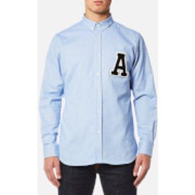 AMI Men's A' Patch Shirt - Sky Blue
