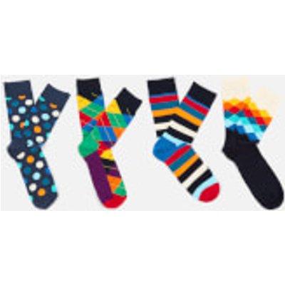 Happy Socks Men's Mix Socks Gift Box - Multi - M-L