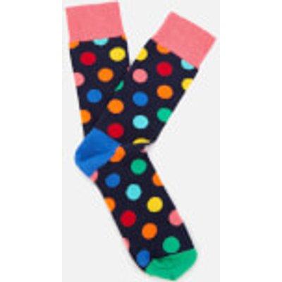 Happy Socks Men's Big Dot Socks - Multi - M-L