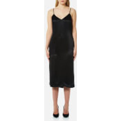 Versus Versace Women's V-Neck Slip Dress - Black