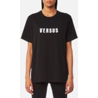 Versus Versace Women's Versus Oversized T-Shirt - Black