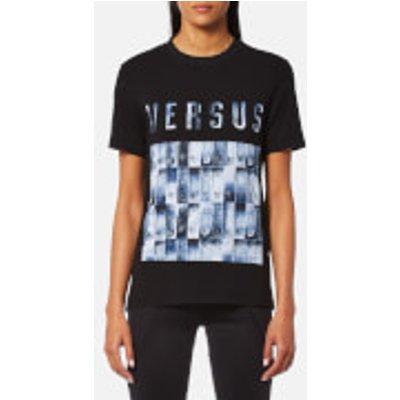 Versus Versace Women's Versus Logo T-Shirt - Black