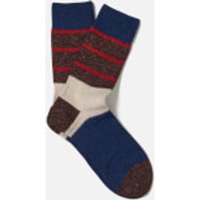 FALKE Men's Shipowner Socks - Bluecollar - EU 39-42 - Brown