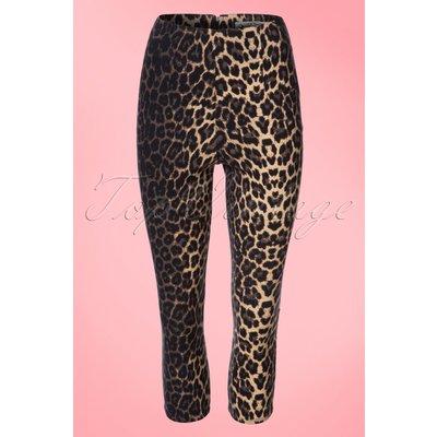 50s Panthera Capris in Leopard