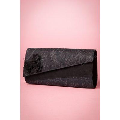 50s Oxford Clutch in Black