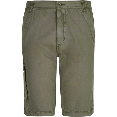Weird Fish Deimos Cotton Cargo Walking Short Dark Olive Size 30