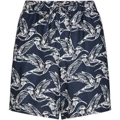 Weird Fish Oneida Printed Lightweight Short Navy Size 8