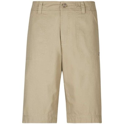 Weird Fish Romie Relaxed Casual Short Taupe Grey Size 30