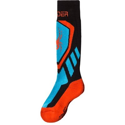 Blue and Red Venture Socks