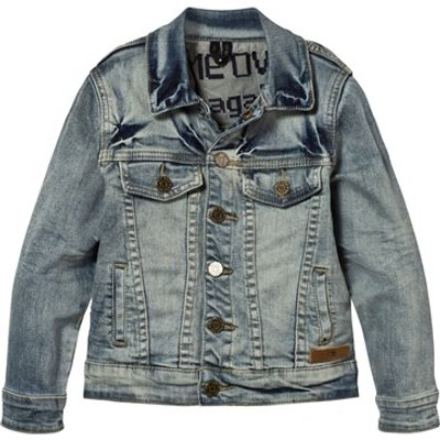 Harald Jacket In Worn Denim