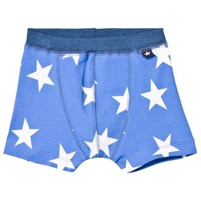 Blue Star Print Boxers