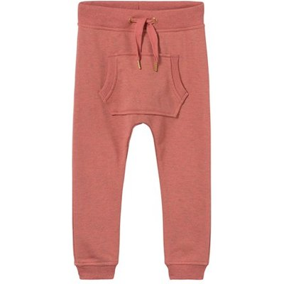 Spicy Pink Melange Aliki Soft Pants